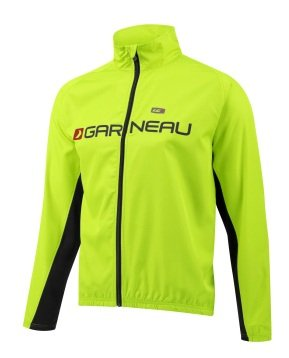 Louis Garneau Team Wind Jacket - Men's Bright Yellow, L