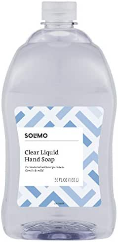 Hand Soap: Solimo Clear Liquid Hand Soap