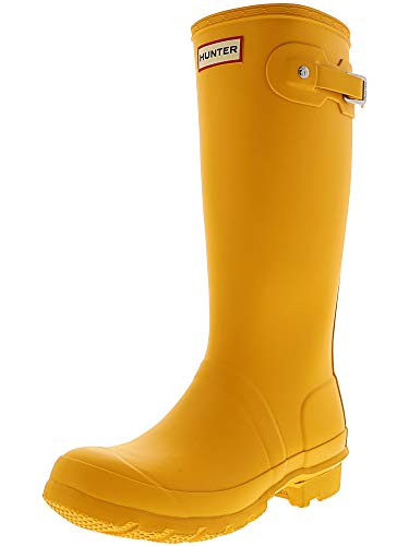 Hunter Kids Unisex Original Kids' Classic Rain Boot (Little Kid/Big Kid) Yellow 13 M US Little Kid - Rain Boots Hunter Yellow