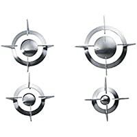 Smeg GP64 Replacement Burner Caps and Pot Stands For PU64