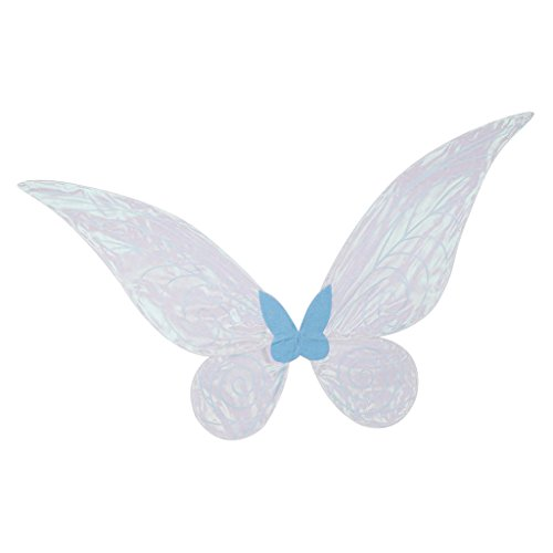 Fityle Blue Color Changing Butterfly Angel Fairy Wing Party Fancy Dress Props - Adult -