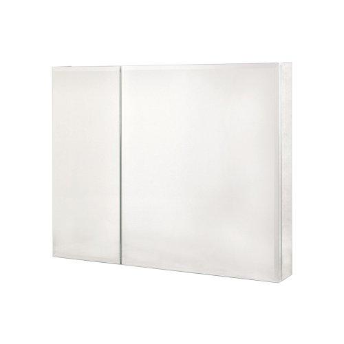 Pegasus SP4587 30-Inch by 36-Inch Bi-View Beveled Mirror Medicine Cabinet, - Bi Cabinet Mirror View