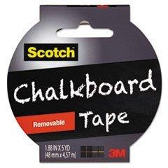 Chalkboard Tape 1 88 yds Black product image