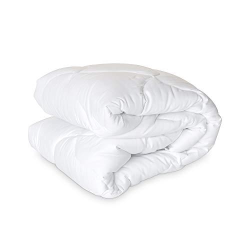 - Laura Ashley Luxury 300 TC Cotton Sateen Hypoallergenic Mattress Pad - Medium Plush (King)