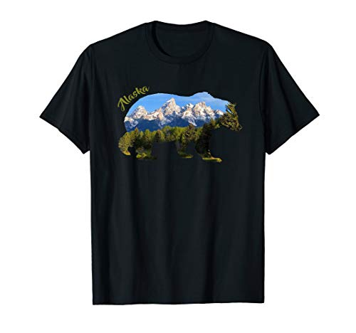 Nature Alaska 2020 Bear TShirt T-Shirt