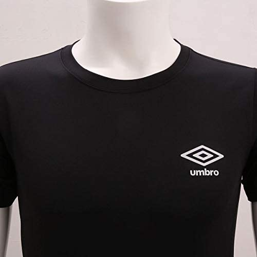(アンブロ)UMBRO ベーシック 半袖 Tシャツ メンズ クルーネック スポーツ 吸汗速乾 UVカット