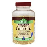 Finest Nutrition Half-the-Size Fish Oil 1000 mg, Softgels, 200 ea