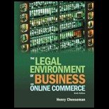 The Legal Environment of Business and Online Commerce Instructor's Copy