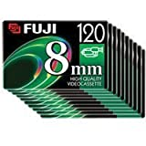 Fuji 8mm P6-120 Video Tape (10 Pack)
