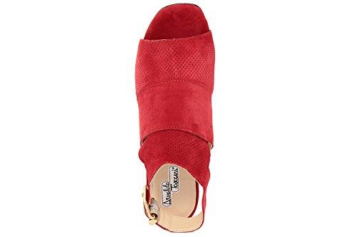 Arnaldo Toscani FEMME - sandale à talon en cuir - 8078100_ROSSO