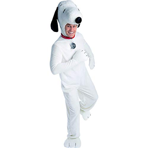 Linus And Sally Halloween Costumes (Palamon Snoopy Deluxe Halloween Costume for Adults, Medium, with)