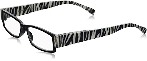 EVIDECO LED Reading Glasses with Light, LG Zebre Optic By Finess Power +1.5