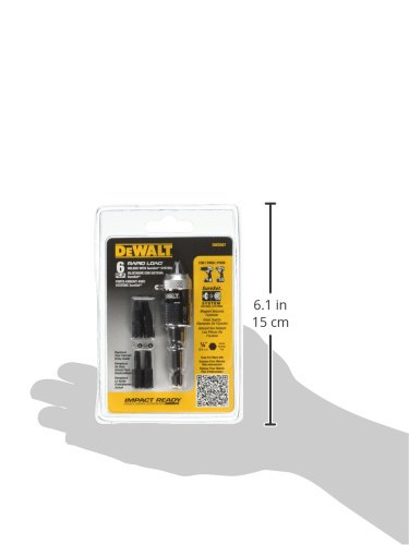 DEWALT DW2507 Compact Rapid Load Set, 6-Piece - Hex Shank Drill Bits - Amazon.com