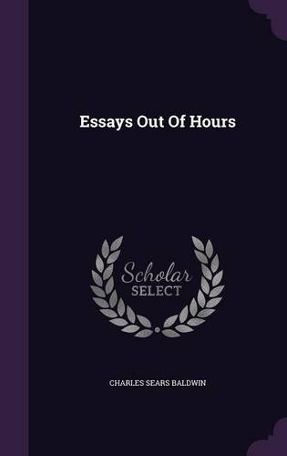 Essays Out Of Hours pdf epub