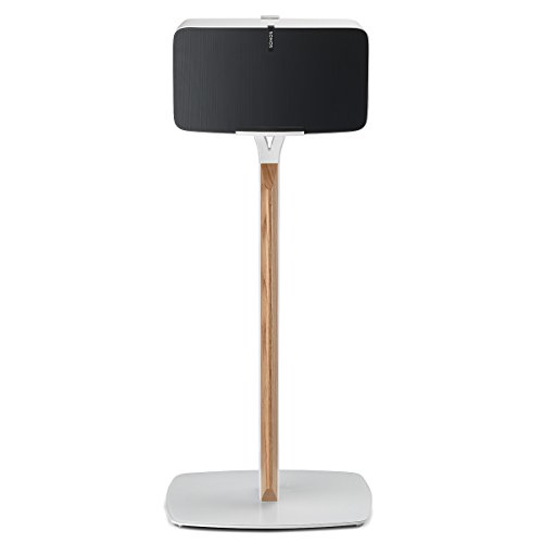 Flexson Premium Floor Stand for Sonos PLAY:5 (White Oak) by Flexson