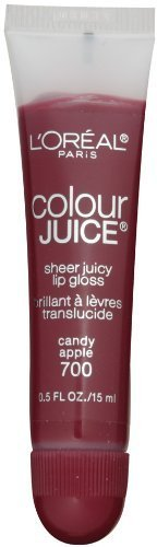 loreal-paris-colour-juice-sheer-juicy-lip-gloss-candy-apple-05-fluid-ounce-by-loreal-paris