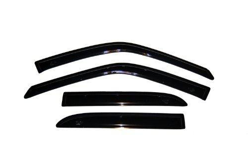 (Auto Ventshade 94321 Original Ventvisor Side Window Deflector Dark Smoke, 4-Piece Set for 1999-2005 Suzuki Vitara & Grand Vitara, 1999-2004 Chevrolet Tracker with 4-Doors)