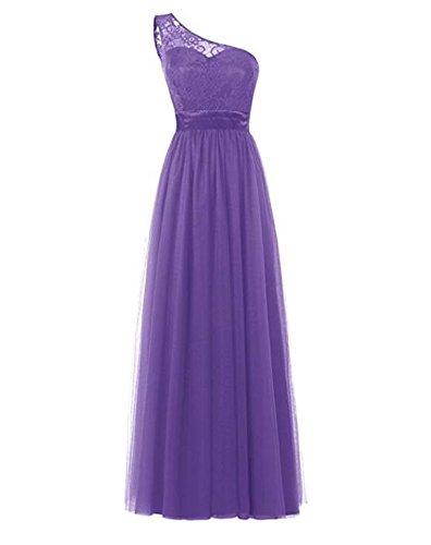 Damen KA Linie Kleid Violett A Beauty HBPBwOx6