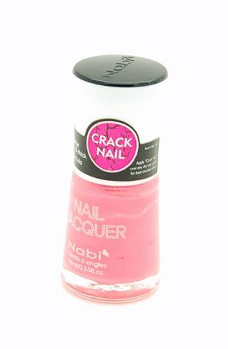 Nabi Crackle Nail Lacquer (#23 Spring Pink) (Crackle Studio)