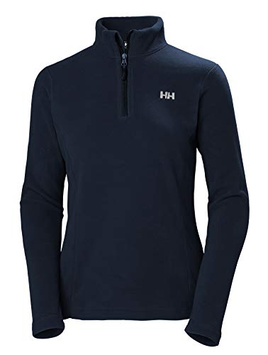 Helly Hansen Women's Daybreaker 1/2 Zip Fleece, Navy, XXX-Large ()