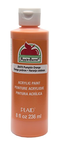 Apple Barrel Acrylic Paint in Assorted Colors (8 oz), 20470 Pumpkin Orange
