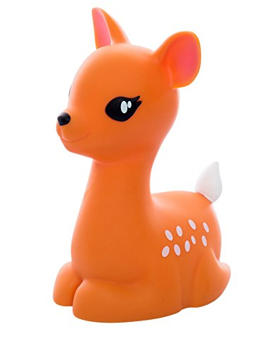 RMEX Deer Nightlight LED Multi Color Light with Timer Function Trendy (Brown)