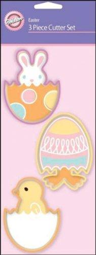 Wilton Easter 3-Piece Cookie Cutter Set