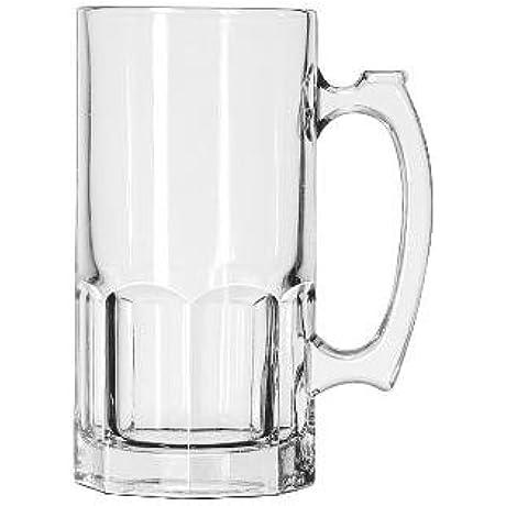 Glass Mugs Tankards Super Mug 34oz 8 Tall