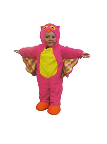 Childrens Toddler Baby Infant Pink Owl Costume (6-12 Months Infant)]()