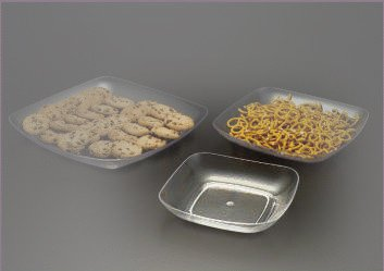 Small Square Dish and Snack Tray (Acrylic)