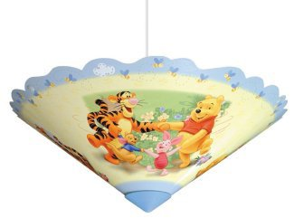 Winnie the pooh lampshade with printed image moulded plastic shade winnie the pooh lampshade with printed image moulded plastic shade aloadofball Gallery