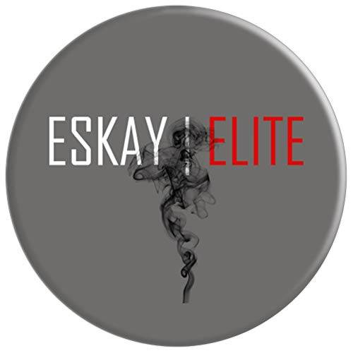 Universal Eskay Elite Black Smoke - PopSockets Grip and Stand for Phones  and Tablets