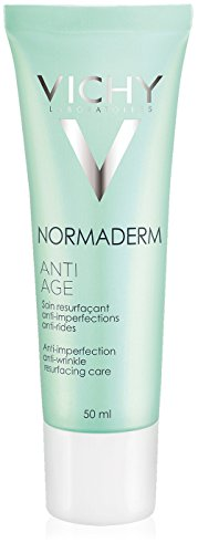 Vichy Normaderm Anti-Aging Resurfacing Moisturizer with Vitamin C for Oily Skin & Acne-Prone Skin, 1.69 Fl. Oz.