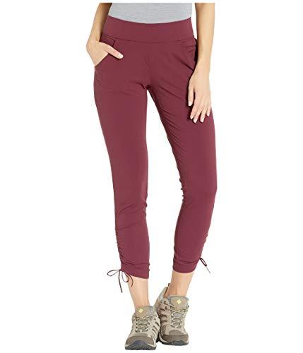 Columbia Women's Anytime Casual Ankle Pant, Deep Madeira Medium x Regular