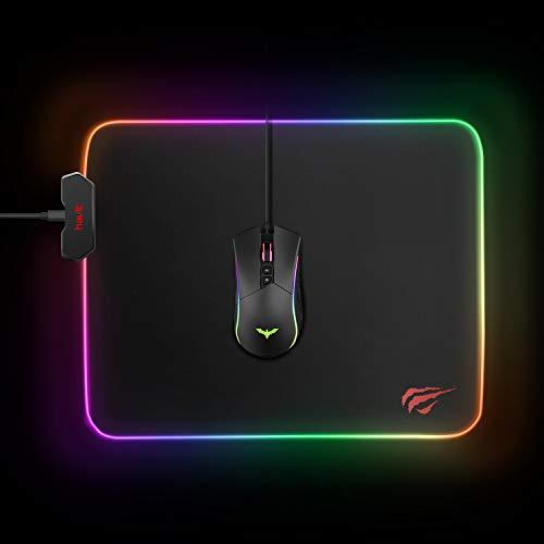 Havit RGB Gaming Mouse Pad Soft Non-Slip Rubber Base Mouse
