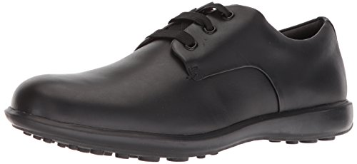 (Camper Men's Atom Work Oxford Flat, Black 1, 45 EU/12 M US)