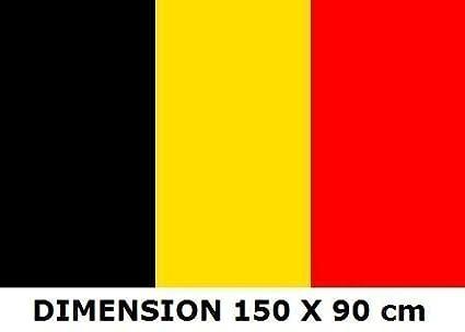 150 x 90 cm Drapeau Belgique