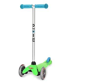 Scooter Mini Micro edición especial neón verde con 3 ruedas ...