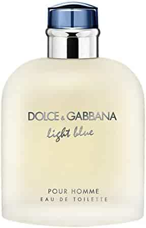Dolce & Gabbana Light Blue Eau de Toilette Spray for Men, 6.7 Fl. Oz