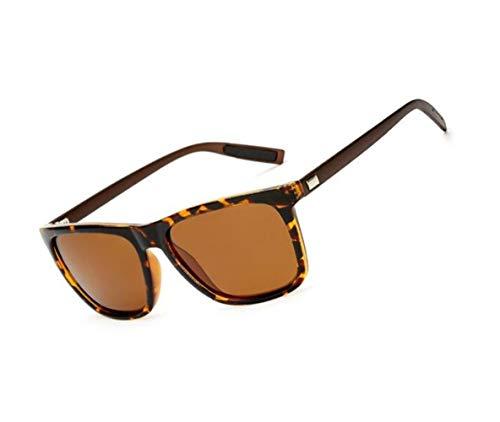 air lunettes de Femmes la protection plein Rétro de de conduite Hommes en FlowerKui pêche UV400 Lunettes Café polarisées pour soleil UWq8znxwF5