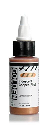 Golden High Flow Arcylic Paint, 1 Ounce, Iridescent Copper F