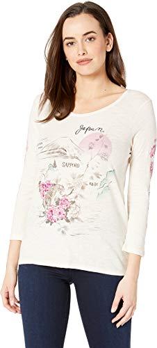 Lucky Brand Women's Japan TEE, Birch, L