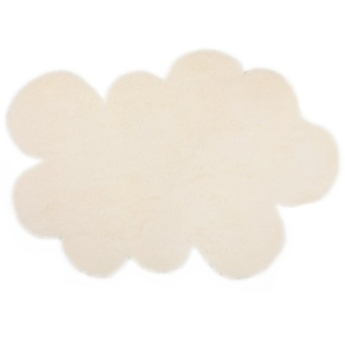 pilepoil TAP-ETOI-BL White Cloud Children Rug, Large Cloud White Area Rug