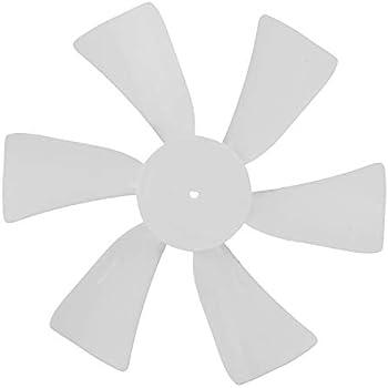 0.125 D-bore 2 Pack Wadoy RV Vent Fan Blade D-Bore Camper Vent Fan Replacement for Ventline//Jensen 1//8 D-Bore