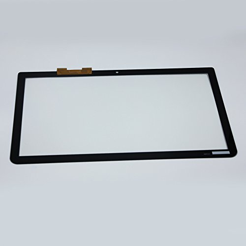 LCDOLED 15.6 inch Touch Laptop Screen Glass TP + Digitizer For Toshiba Satellite L55T-B series L55T-B5278 L55T-B5257W L55T-B5271 L55T-B5330 L55T-B5334 by LCDOLED