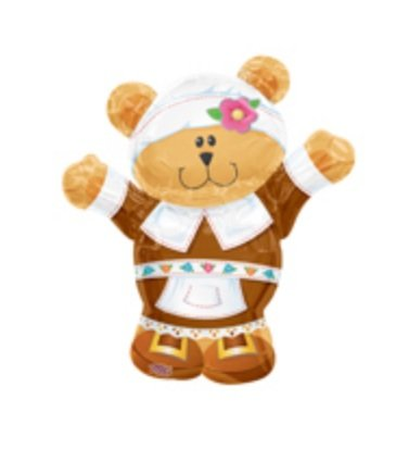 Thanksgiving Pilgrim Bear 30
