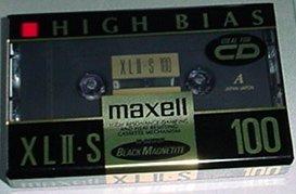 Maxell XL II-S 100 Minute Cassette High Bias