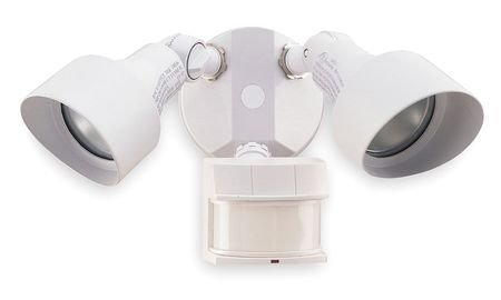 LumaPro 2LBL3 Motion Light, 240 Deg.Viewing Angle, White