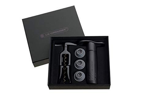 Le Creuset Wine Accessories Classics Gift Set, Black