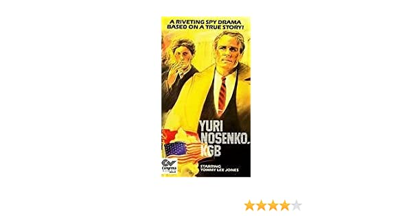 Amazon Com Yuri Nosenko Kgb Vhs Tommy Lee Jones Josef